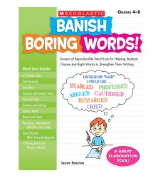 Banish Boring Words